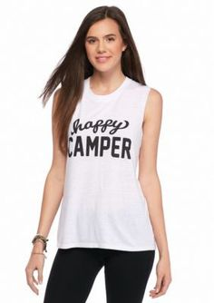 SubUrban RIOT  Happy Camper Muscle Tee
