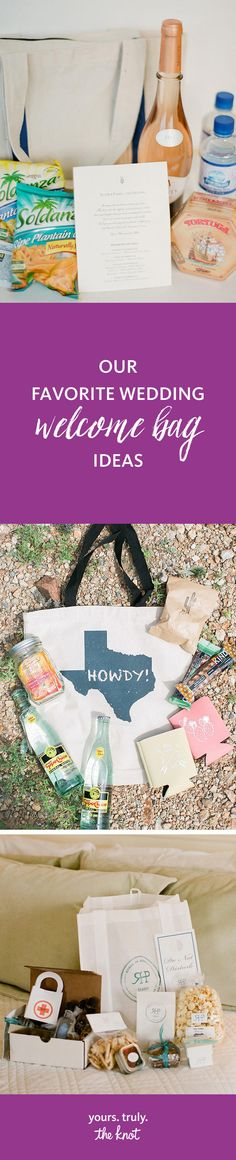 61 Best Welcome Bag Ideas Images On Pinterest In 2018 Wedding
