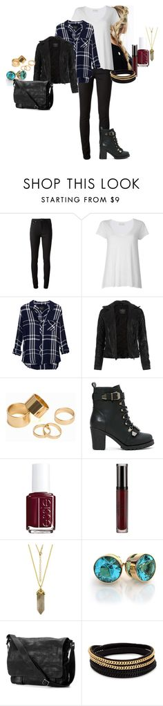 """""""Arden Anderson - Survival Of The Fittest (S07E23)"""" by katlayden ❤ liked on Polyvore featuring Acne Studios, American Vintage, Rails, AllSaints, Pieces, Shoe Cult, Essie, Stila, Frye and Vita Fede"""