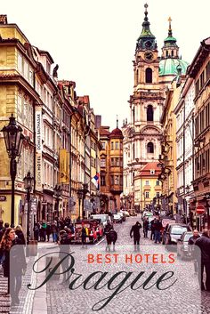 19 of the Best Hotels in Prague! We've picked the cream of the crop including the best luxury hotels, boutique hotels, and budget hotels in Prague! Europe Travel Guide, Europe Destinations, Travel Guides, Budget Travel, Travelling Europe, Traveling, Travel Trip, Solo Travel, Best Hotels In Prague