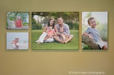 living room wall display kct detail  2 8x10, 1 20x24, 1 16x20 Canvas Display, Canvas Collage, Canvas Art, Picture Arrangements, Photo Arrangement, Canvas Groupings, Cheap Wall Art, Gallery Wall Layout, Photo Deco