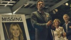 Gone Girl is a 2014 American thriller film directed by David Fincher and adapted by Gillian Flynn from her 2012 novel of the same name. It stars Ben Affleck, Rosamund Pike, Neil Patrick Harris, Tyl. David Fincher, Rosamund Pike, Shutter Island, 10 Film, Film 2014, Missouri, Movies 2014, Go To Movies, Movies Free