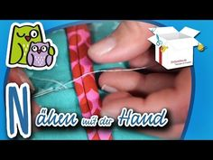 Nähen mit der Hand | Nählexikon A-Z #14 | Nähschule Anleitung Nähen lernen für Anfänger - YouTube
