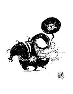 Little Venom by Skottie Young