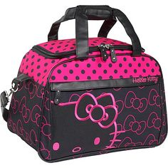 Hello Kitty carry-on bag