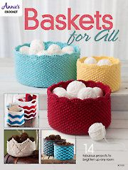 New Crochet Patterns for the Home - Baskets for All