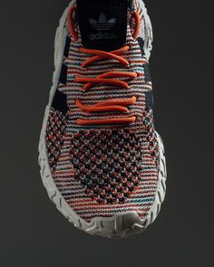 """adidas Atric Primeknit """"Trace Orange"""" // Available Now Adidas Zx, Adidas Shoes, Shoes Sneakers, Designer Sneakers Mens, Designer Shoes, Minimal Shoes, Clean Shoes, Sport Wear, Workout Wear"""
