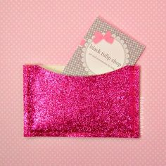 41 best glitter business cards images on pinterest business card glitter business card case id gift card holder colourmoves