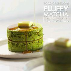 Food Obsessions: Fluffy Matcha Hotcakes