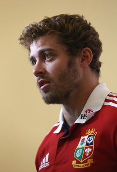 Leigh Halfpenny looks on during the British and Irish Lions media day at Syon Park on May 13, 2013 in London, England.