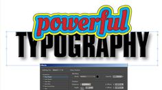 How to create type effects with InDesign - Part I