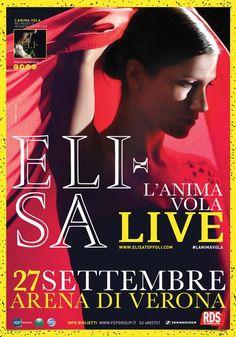 """Elisa Toffoli """"L'anima Vola"""" live all'Arena di Verona @gardaconcierge"""