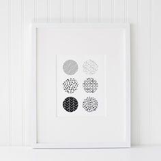 Azzari Jarrett | Abstract Black and White Printable