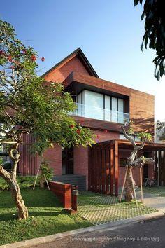 Kiến trúc biệt thự hiện đại vùng nhiệt đới