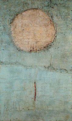Nicolas de Staël (1914-1955)  The moon  Ciudad de la Pintura  #art #paintings #abstract