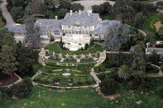 "Oprah's Maine house ""The Promised Land"" Montecito, CA (outside Santa Barbara."