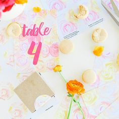 Download these free watercolor printables to create floral stationery for your wedding! Or just for your own personal collection!
