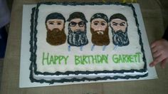 Duck dynasty cake happy happy happy valentines day!!