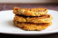 Carrots and zucchini croquettes – Mi Diario de Cocina Veggie Recipes, Keto Recipes, Healthy Recipes, Healthy Sides, Light Recipes, Healthy Cooking, Food Print, A Food, Zucchini