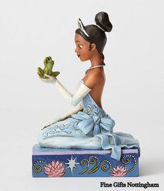 Disney Traditions Princess Tiana with Frog Figurine Jim Shore 4054276 #DisneyTraditions #TianaAndFrogFigurine #FineGiftsNottingham