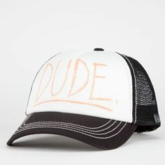 428e7d57dd7 BILLABONG Duuude Womens Trucker Hat - BLACK - JAHT1DUT
