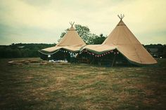 Tipi Marquee. (PS follow The LANE on instagram: the_lane)