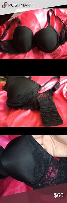 Victoria's Secret Dream Angels bra Brand new Dream Angela Perfect Coverage bra from Victoria's Secret in a size 36DD. It's an amazing fit for support & comfort. Bra has lace on sides of cups, band is elastic & lace, 4, 3-row settings for hook & eye back closure, straps are fully adjustable & also can convert to wear multiple ways. 💞 All offers are welcome! 🙂 Victoria's Secret Intimates & Sleepwear Bras