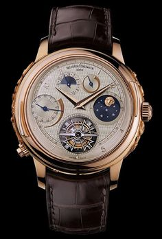 vacheron constantin vladimir the grandest of the grande complications. I admire the engineering just not a fan of gold.