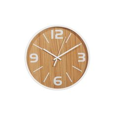 White Dial Frankie Wall Clock - Make an Entrance - T&W Blended Events 2015 Oz Design Furniture, Home Office Furniture, Furniture Deals, Contemporary Clocks, Natural Nursery, How To Make Wall Clock, Retro Home, Decorative Cushions, White Decor