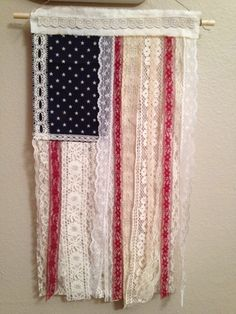 A personal favorite from my Etsy shop https://www.etsy.com/listing/233332143/boho-gypsy-american-flag-wall-hanging