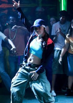 Step up the streets, featuring Briana Evigan. Step Up Dance, Just Dance, Hip Hop Fashion, 2000s Fashion, Step Up 3, Briana Evigan, Dancehall Videos, Step Up Movies, Up The Movie