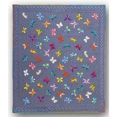 Euphoric Butterflies  Quilt KitBatik Applique on Batik Background5 Sizes!  Reserve yours today.