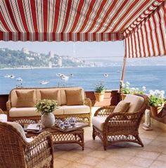 Outdoor Space by Barbara Ther in Bosporus Strait, Turkey