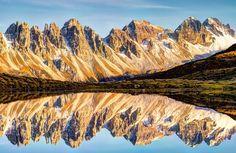 Die Kalkkögel im Herbstlicht. Innsbruck, All Pictures, Mount Everest, Mountains, Fall, Nature, Travel, Pictures, Getting Older