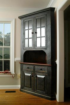 Corner Hutch Kitchen Bull Outdoor 77 Best Farmhouse Images Great Idea Cupboard Cabinet