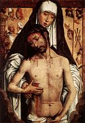 "New artwork for sale! - "" Memling Hans The Virgin Showing The Man Of Sorrows by Hans Memling "" - http://ift.tt/2oKel4X"