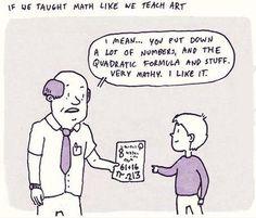If we taught math like we teach art   http://ift.tt/2fLxXnv via /r/funny http://ift.tt/2eZV2DD  funny pictures
