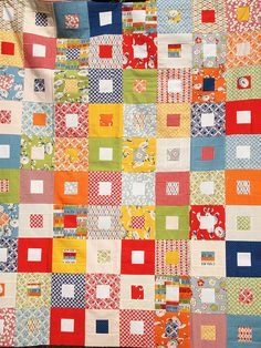 Fat Quarterly Quilt Along Quilt by ImAGingerMonkey, via Flickr