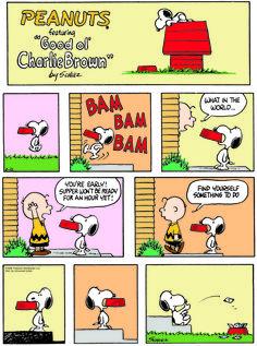 Classic Peanuts - 2/22/15 - Originally appeared 2/25/68