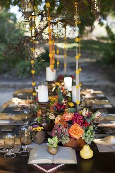 Outdoor garden party ~ From: That Inspirational Girl