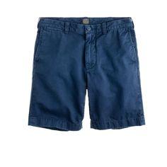 "9"" Stanton short in garment-dyed cotton : 9"" shorts   J.Crew"