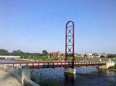 Walking bridge over St. Joe River at The River Walk