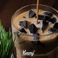 Dessert Drinks, Yummy Drinks, Healthy Drinks, Dessert Recipes, Yummy Food, Tasty, Milk Tea Recipes, Coffee Recipes, Pavlova