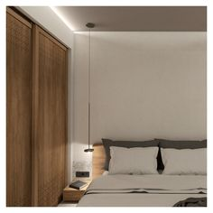 Sliding partitions are designed in order to allow he shower to be partially or completely detached from the bedroom, as per the visitor's wish. Exterior Design, Interior And Exterior, Interior Concept, Beach Hotels, Private Pool, Home Renovation, Divider, Shower, Studio