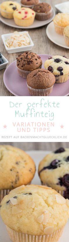 Ein Teig, ungeheuer viele Möglichkeiten: Mit diesem einfachen Muffins-Grundrezept habt ihr die perfekte Basis für schokoladige, fruchtige, kernige oder würzige Muffins. Egal, ob mit Butter oder Öl, mit Joghurt oder Buttermilch, mit diesem Muffin-Grundteig könnt ihr eure eigenen Kreationen zaubern.