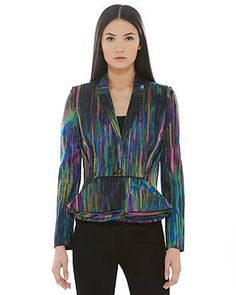 CHALAYAN Multicolor Patterned Jacket