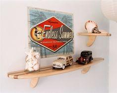Shortboard Surfboard Wall Shelf