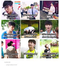 yixing's weekly torment on Go Fighting! continues...
