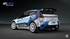 TRT Rally Team (Ford Fiesta R5) - design and wrap.