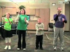 Green Eggs and Ham movement with bean bags - Dr. Seuss day